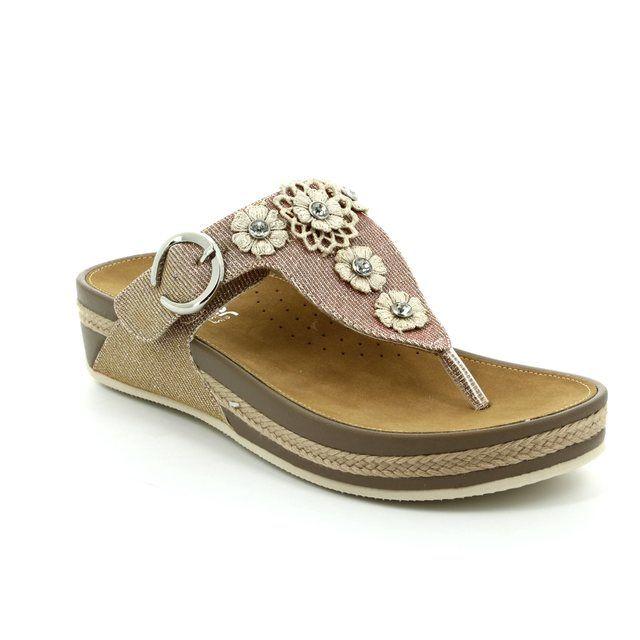 Rieker Sandals - Pink - V1451-31 LULUFLO