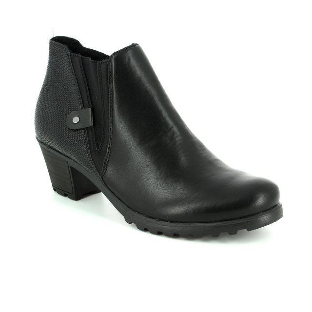 Rieker Ankle Boots - Black multi - Y8071-03 GREECE 72