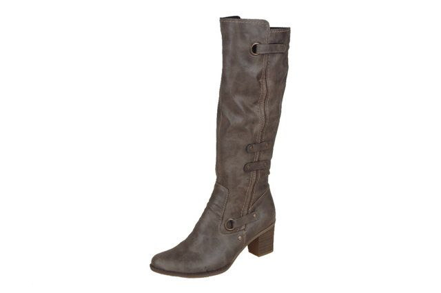 Rieker Z7672-42 Stone knee-high boots