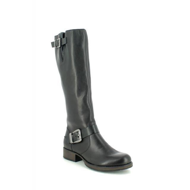 Rieker Knee-high Boots - Black - Z9580-00 SANDRA