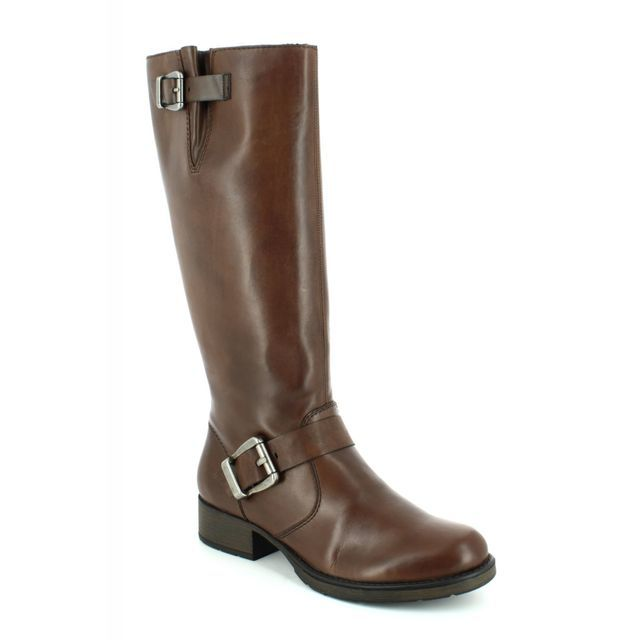 Rieker Knee-high Boots - Brown - Z9580-25 SANDRA