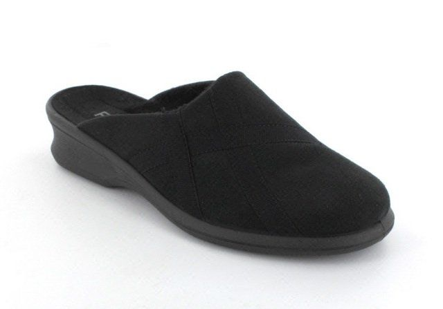 Rohde Farun 2500-90 Black slipper mules