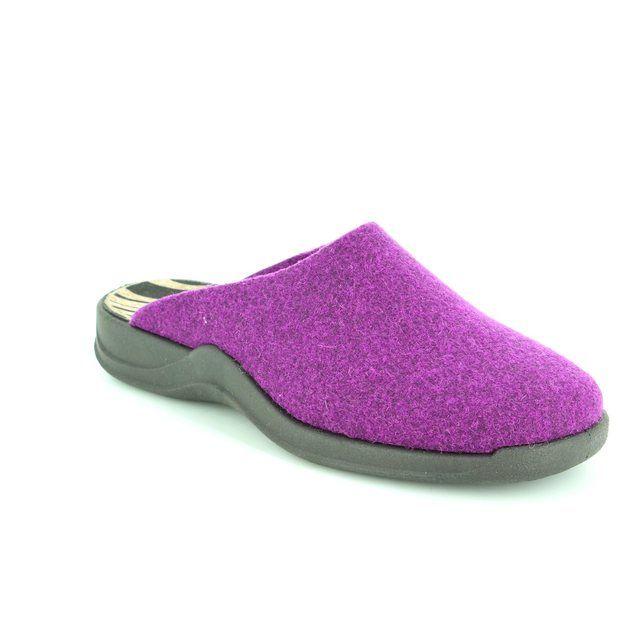 Rohde Slipper Mules - Purple - 2309/57 HAUSSCHUHE