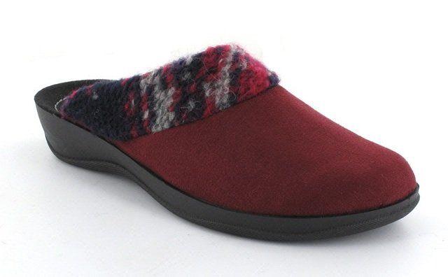 Rohde Kamp 2401-46 Pink multi slipper mules