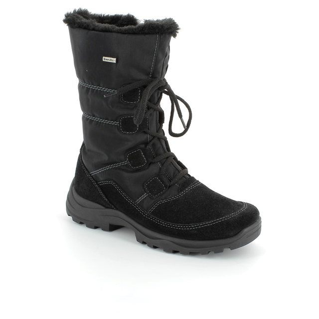 Rohde Renn 9364-90 Black winter boots