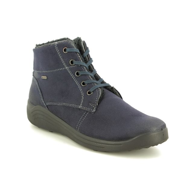 Romika Ankle Boots - Navy - 50308/109531 MADERA 08 TEX