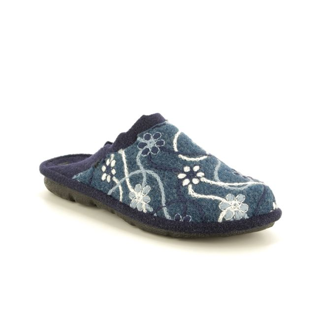 Romika Slippers - Navy - 22100/127532 MIKADO 100