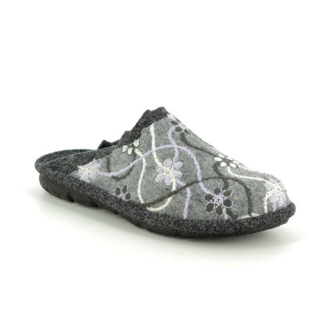 Romika Slippers - Grey - 22100/127712 MIKADO 100