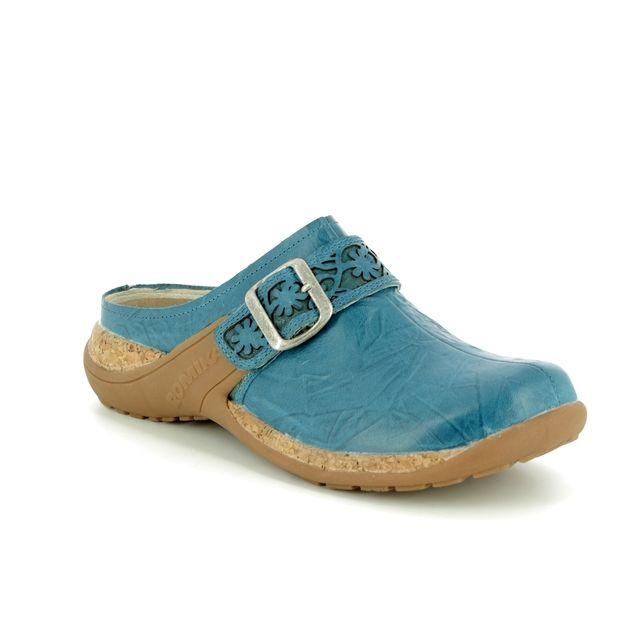 Romika Slipper Mules - Turquoise - 10182/40515 MILLA  122 MULE