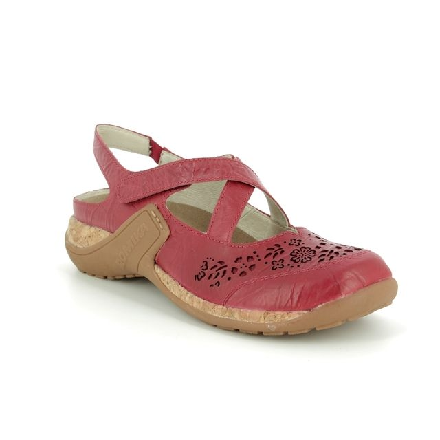 Romika Mary Jane Shoes - Red - 10185/40450 MILLA  125 CROS