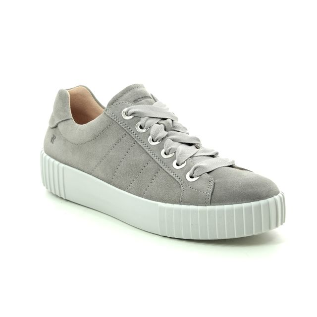 Romika Trainers - Grey Suede - 14201/167250 MONTREAL S 01