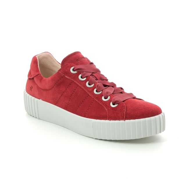 Romika Trainers - Red suede - 14201/167400 MONTREAL S 01