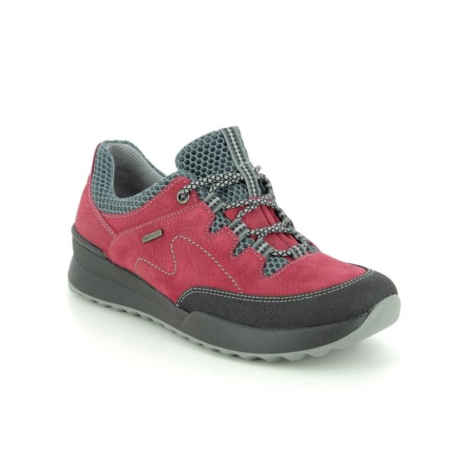 Romika Walking Shoes - Red leather - 50110/158401 VICTORIA 10 TEX