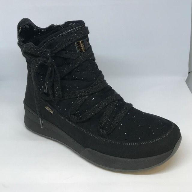 Romika Walking Boots - Black - 50118/159100 VICTORIA 18 TEX
