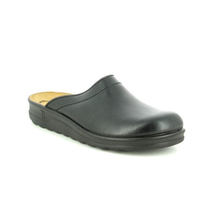 Romika House Shoe - Black - 49060/95100 VILLAGE 260