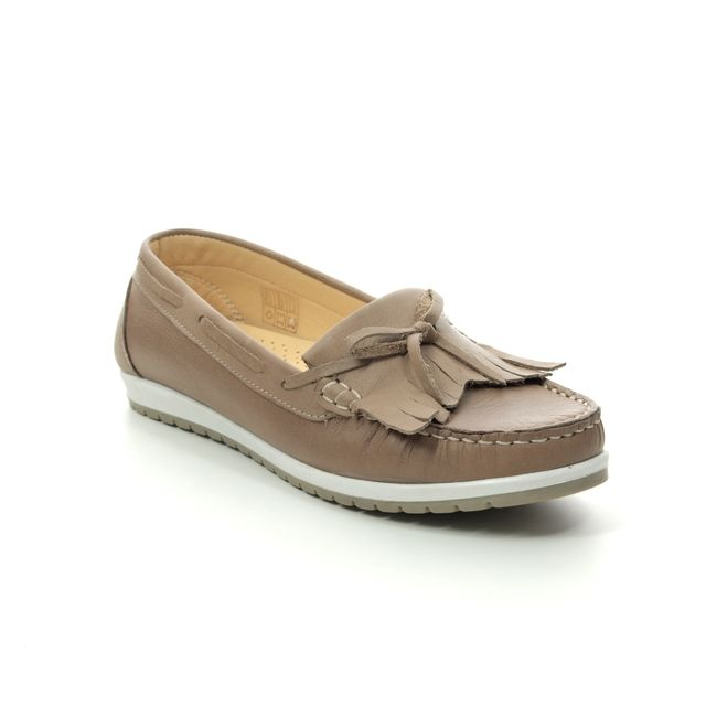 Roselli Loafers - Taupe leather - 2020/20 ARLENE