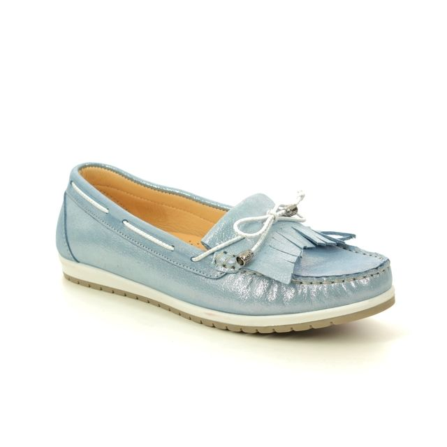 Roselli Loafers - BLUE LEATHER - 2020/19 ARLENE