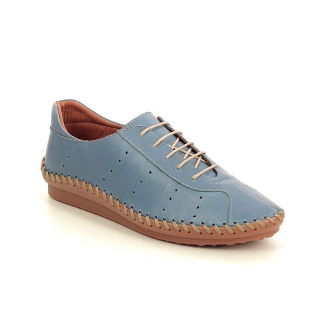 Roselli Lacing Shoes - BLUE LEATHER - 2020/13 ISLA