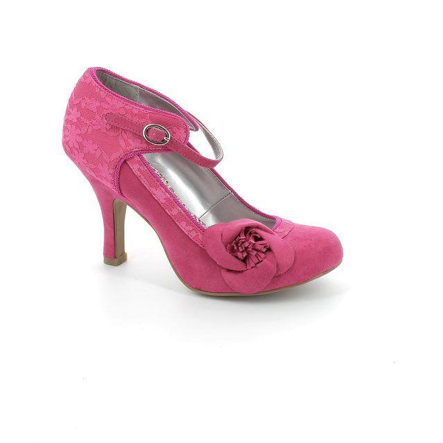 Ruby Shoo Anna 08896-66 Fuchsia high-heeled shoes