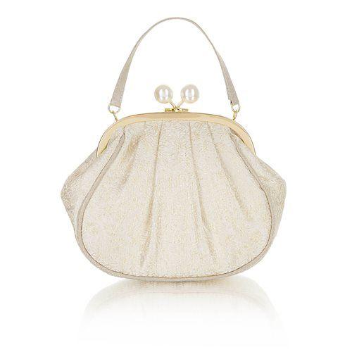Ruby Shoo Matching Handbag - Cream - 50123/20 ARCO MARIA