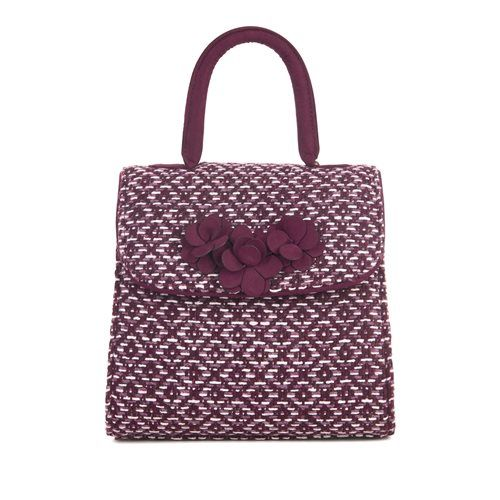 Ruby Shoo Bari Petra 50097-80 Burgundy matching handbag