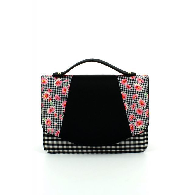 Ruby Shoo Belfast Dee 50077-30 Black matching handbag