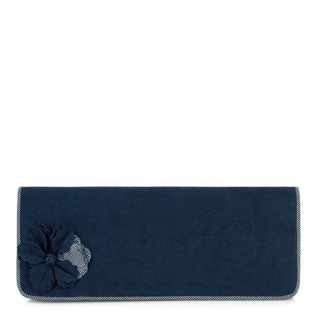 Ruby Shoo Budapest Samir 50067-70 Blue matching handbag