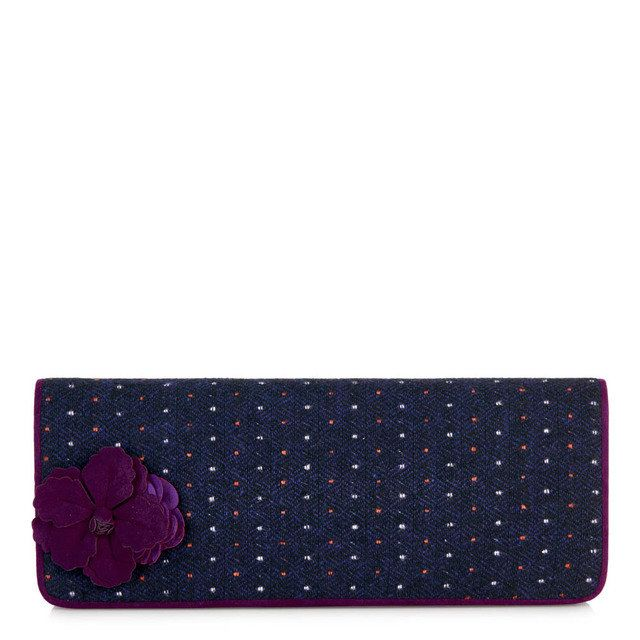 Ruby Shoo Budapest Samir 50067-90 Purple matching handbag