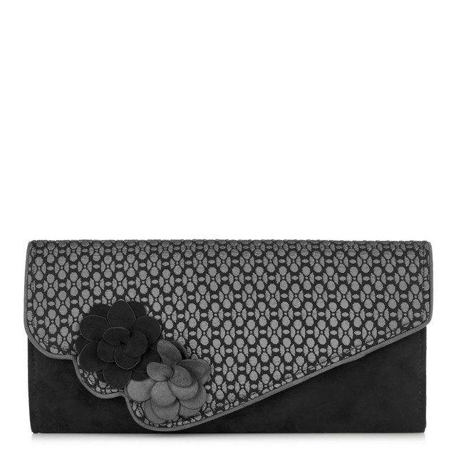 Ruby Shoo Cairo April 50062-30 Grey matching handbag