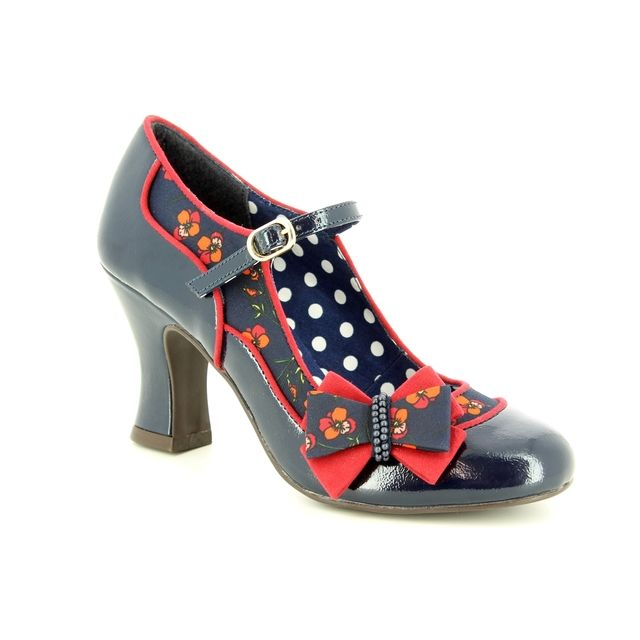 Ruby Shoo High-heeled Shoes - Navy - 09237/70 CAMILLA