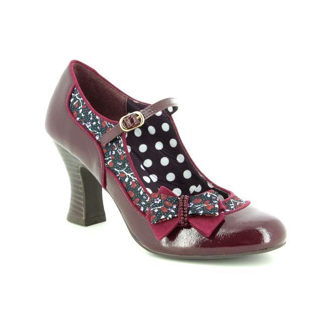Ruby Shoo High-heeled Shoes - Burgundy - 09237/81 CAMILLA