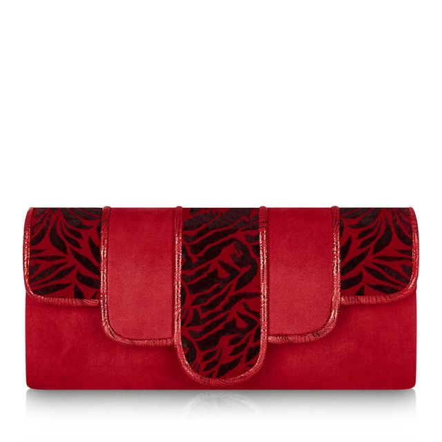 Ruby Shoo Canberra Harper 50193-80 Red matching handbag