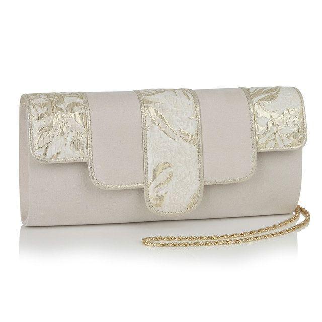 Ruby Shoo Canberra Priscilla 50174-26 Gold matching handbag