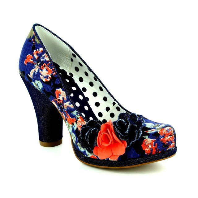 Ruby Shoo High-heeled Shoes - Floral print - 09097/75 EVA