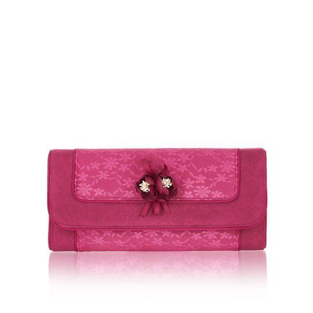 Ruby Shoo Matching Handbag - Fuchsia - 50114/80 GENOVA SILVIA
