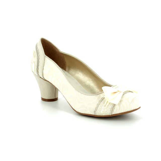 Ruby Shoo Heeled Shoes - Cream - 09160/75 HAYLEY