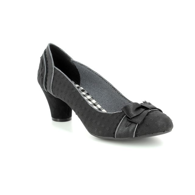 Ruby Shoo Heeled Shoes - Black - 09185/30 HAYLEY