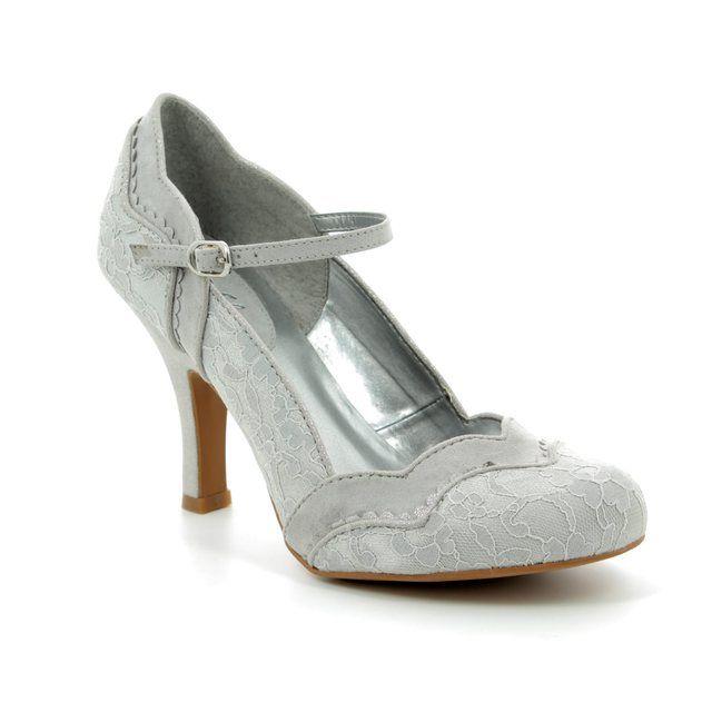Ruby Shoo High-heeled Shoes - Silver - 09152/60 IMOGEN