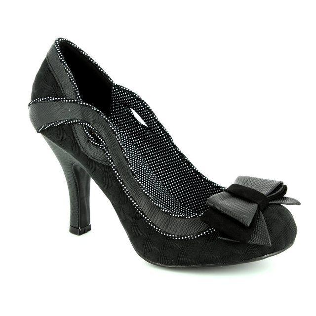Ruby Shoo Ivy 09123-30 Black high-heeled shoes