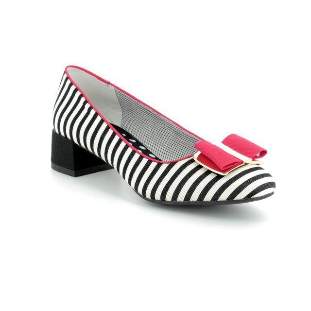 Ruby Shoo Heeled Shoes - Black-red combi - 09194/35 JUNE