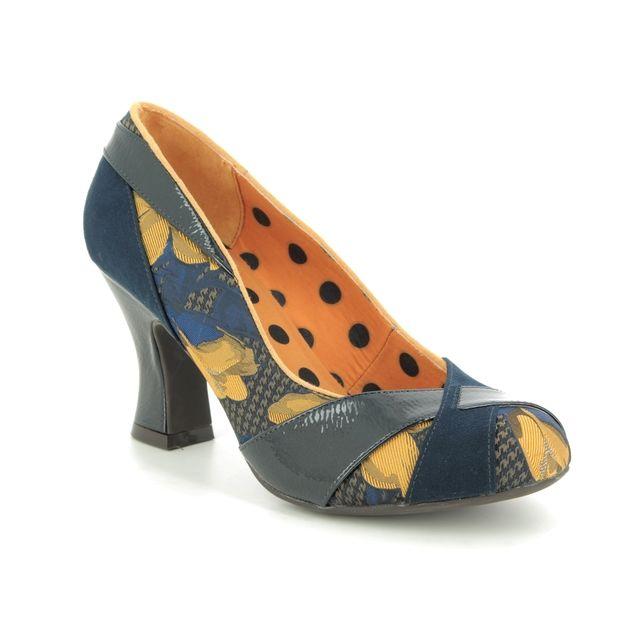 Ruby Shoo Lulu 09306-70 Navy multi High heels