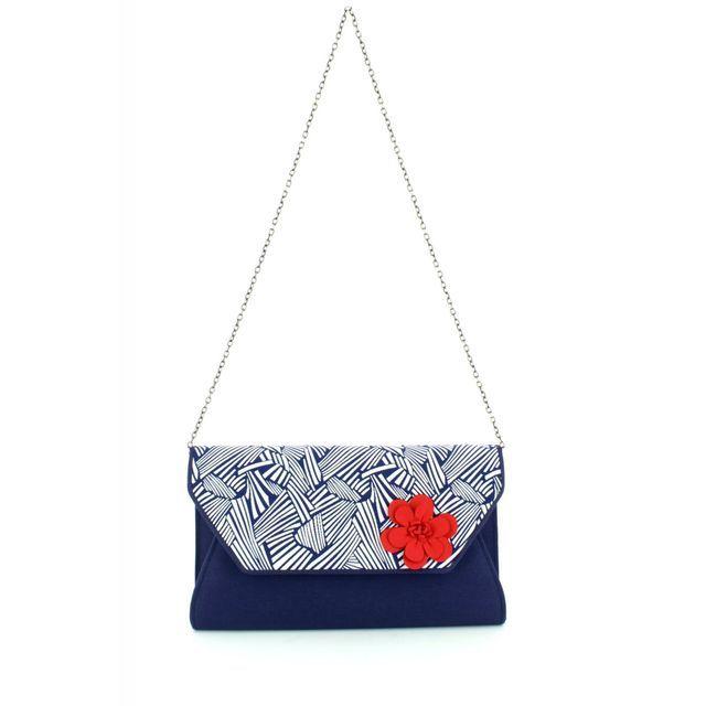 Ruby Shoo Naples Tanya 50084-70 Navy multi matching handbag