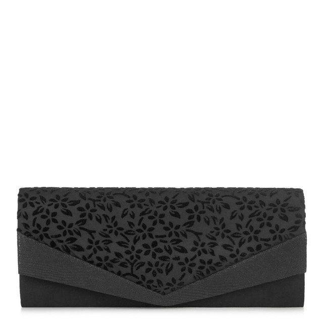 Ruby Shoo Prague Tanya 50065-30 Black matching handbag
