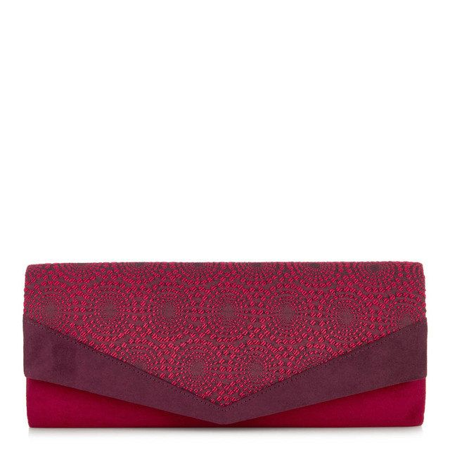 Ruby Shoo Prague Tanya 50065-80 Red matching handbag