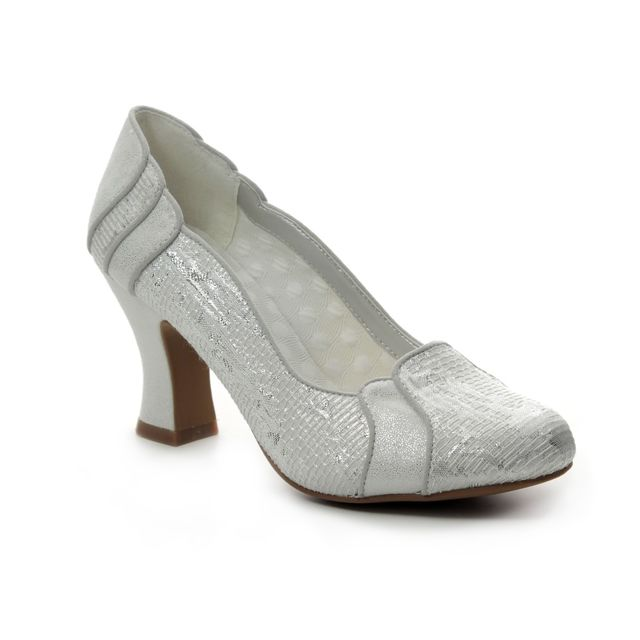 Ruby Shoo High-heeled Shoes - Silver multi - 09262/01 PRISCILLA