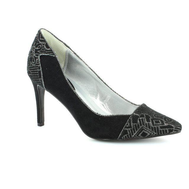 Ruby Shoo Sally 0882-13 Black high-heeled shoes