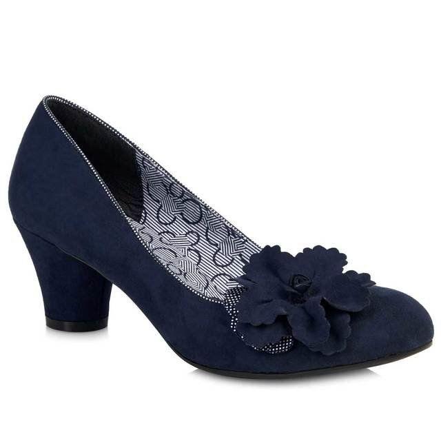 Ruby Shoo Samira 08995-70 Blue high-heeled shoes