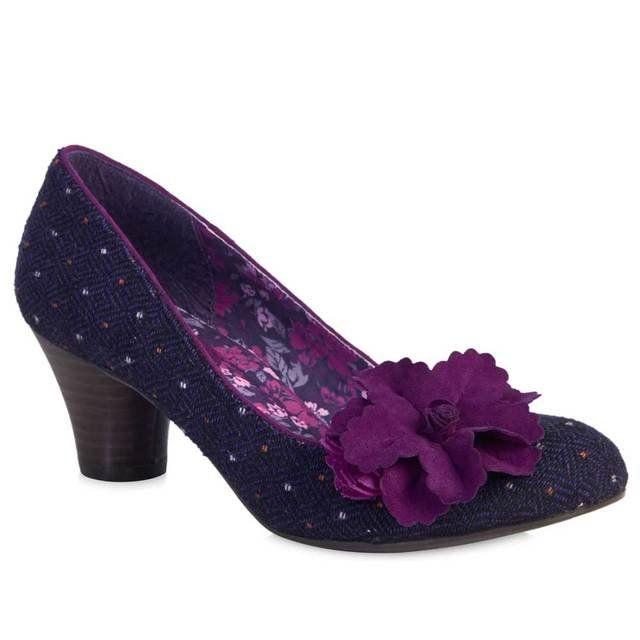 Ruby Shoo Samira 08995-90 Purple high-heeled shoes
