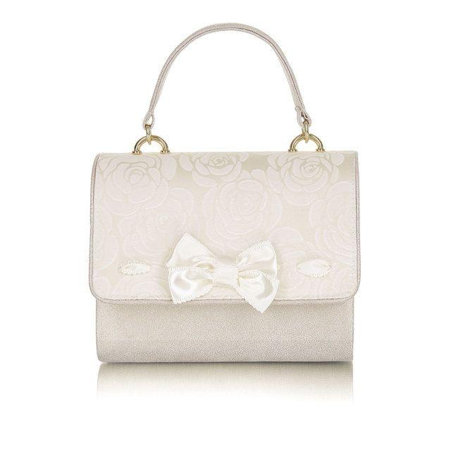 Ruby Shoo Matching Handbag - Cream - 50127/75 SAN MARINO HAY