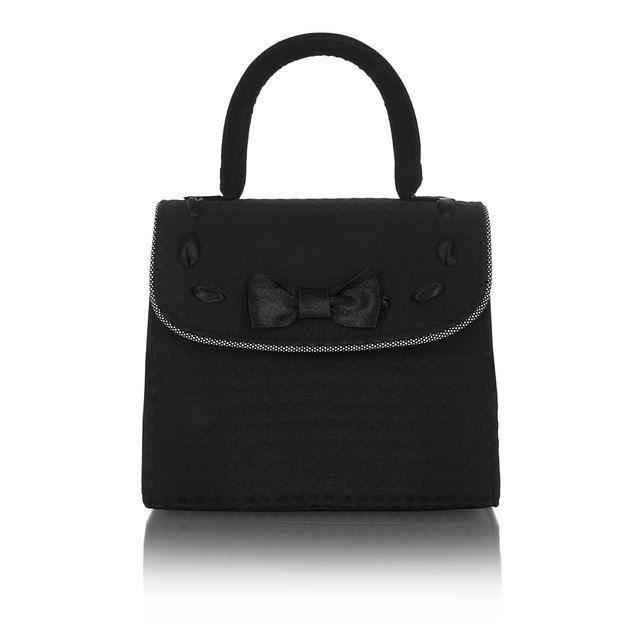 Ruby Shoo Matching Handbag - Black - 50117/30 SANTIAGO HAYLE